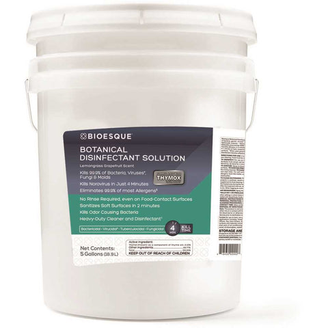 310650025 BIOESQUE 5 Gal. Botanical Disinfectant Solution Pail