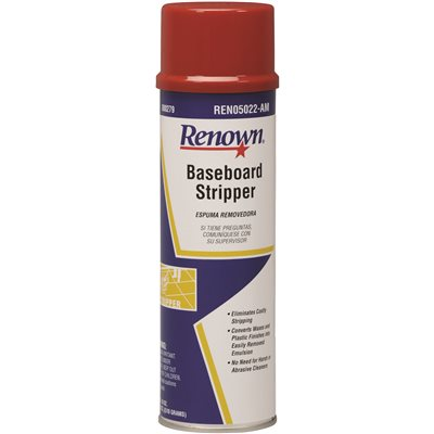REN05022-AM Renown 22 oz. Baseboard Stripper Cleaner Aerosol