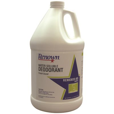 REN03033-BD Renown 1 Gal. Fresh Scent Water Soluble Deodorant 4/cs
