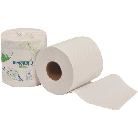 REN06104-WB   Single Roll 2-Ply 4.5 in. x 3.75 in. Toilet Paper (500 Sheets per Roll 96 Rolls per Case)