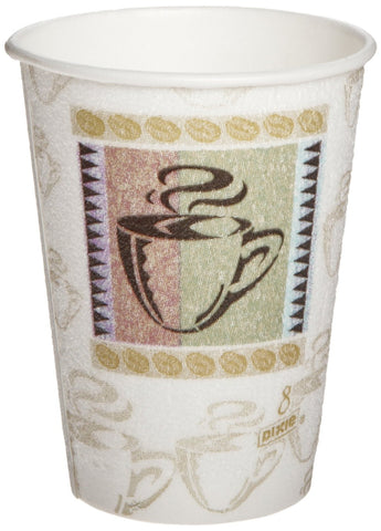 Dixie Perfectouch Insulated Paper Cup Coffee Dreams