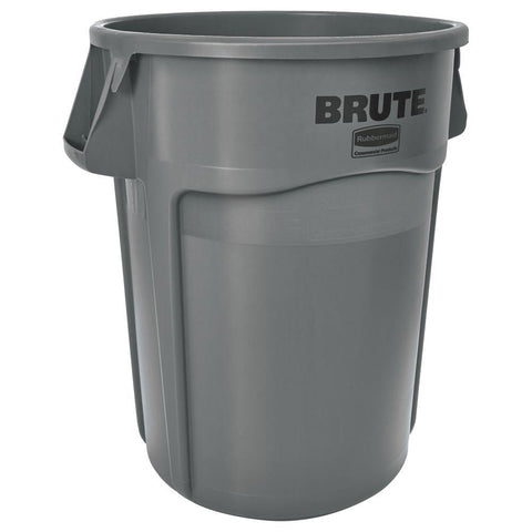 SOD RCP265500GY  RUBBERMAID BRUTE 55 GALLON TRASH CAN, GR