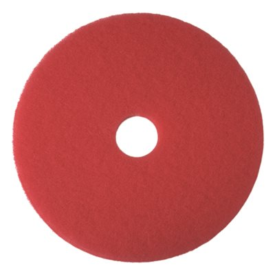 02048 Renown 20 in. Red Buffing Floor Pad (5-Count)