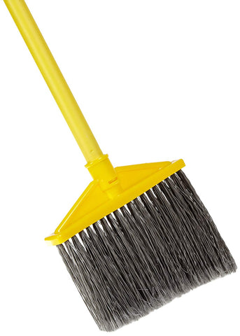 RCP637500GY Rubbermaid Commercial Products 10.5 in. Polypropylene Upright Broom with Vinyl Coated Metal Handle