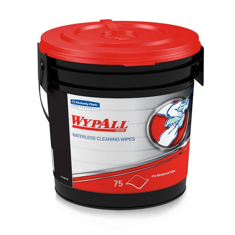 KC91371 WYPALL Waterless Hand Wipes TUB