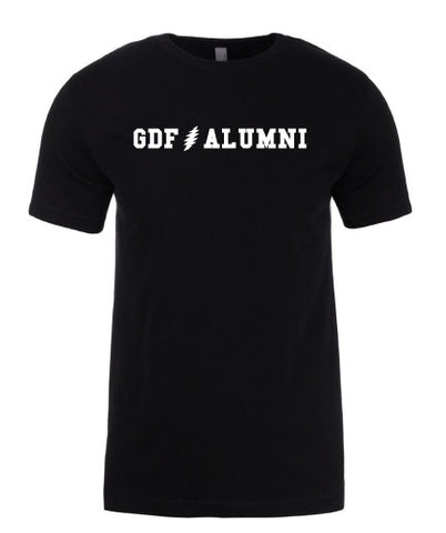 GDF Alumni black mens Shirt with FREE SHIPPING