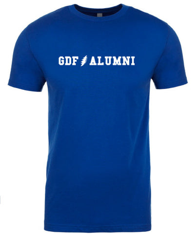 GDF Alumni Blue mens Shirt with FREE SHIPPING
