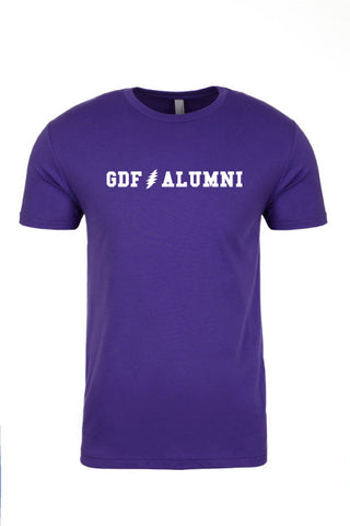 GDF Alumni purple mens Shirt with FREE SHIPPING