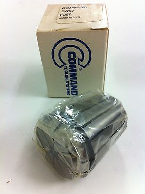 Command Tooling Systems ER32 DR32 F250 .250 inch / 6.4 mm Collet for Mill New