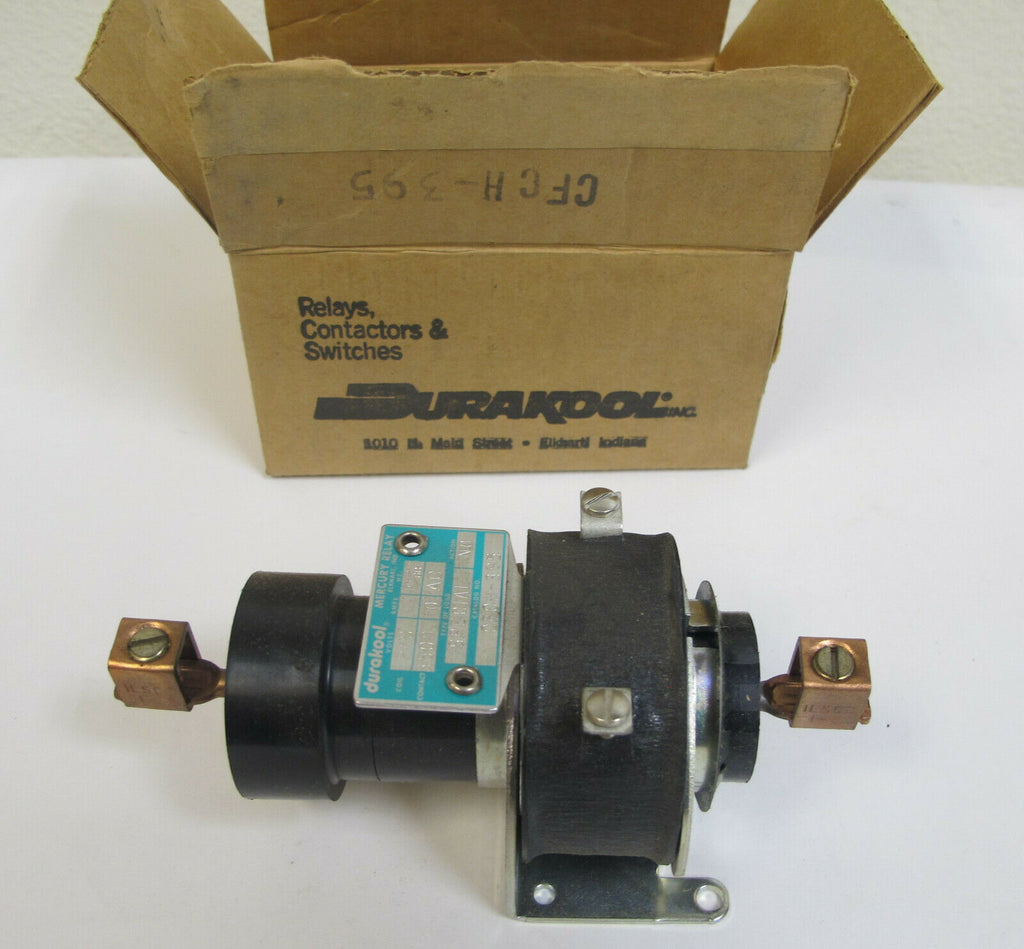 Durakool CFCH-395 Mercury Relay 240 Volt New Made in USA