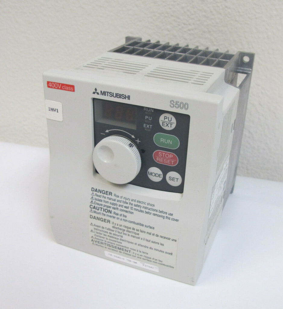Mitsubishi S500 Inverter drive VFD FR-S540-0.75K-NA Variable Frequency 1HP