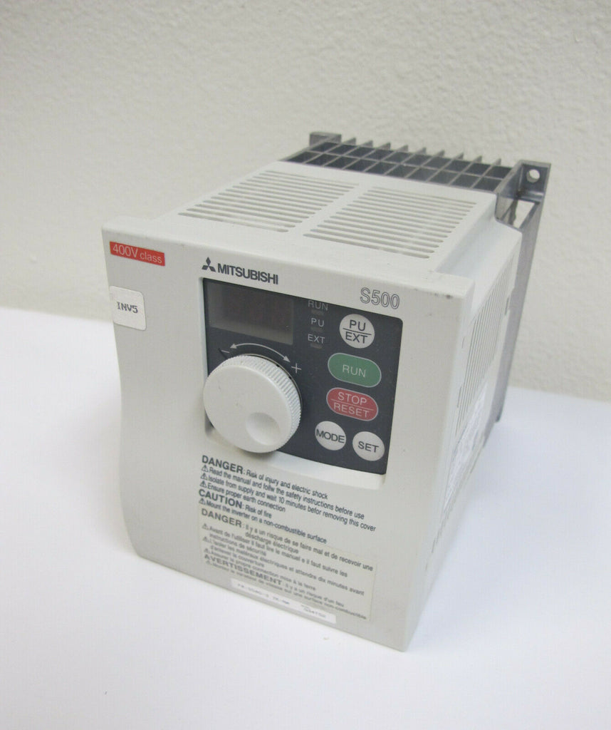 Mitsubishi S500 Inverter drive VFD FR-S540-3.7K-NA Variable Frequency 5HP