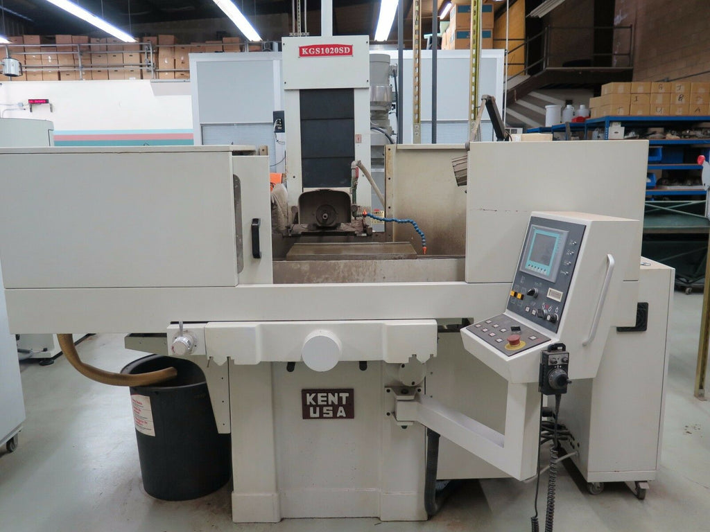 "2010 KENT USA Rotary Table Surface Grinder Programmable KGS 1020SD 10"" x 20"""