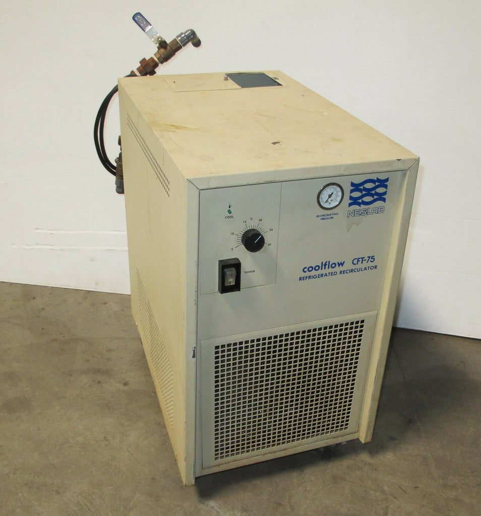 NESLAB Coolflow CFT-75 Refrigerated Recirculator Chiller Pump Type PD-1 NOT COOL