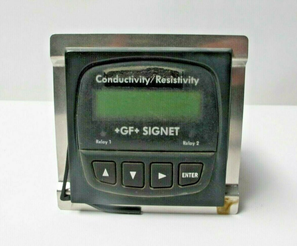 GF Georg Ficsher Signet Dual Channel Conductivity Controller 3-8860 Resistivity