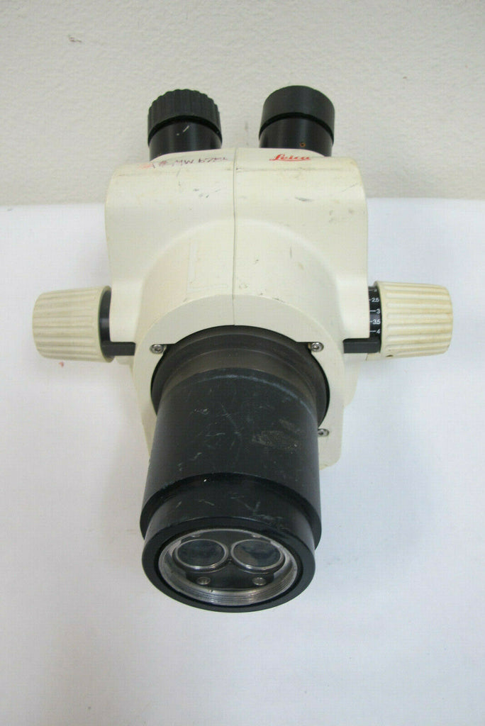 Leica Microscope Head GZ6 Stereo Zoom Binocular Untested for Parts Only