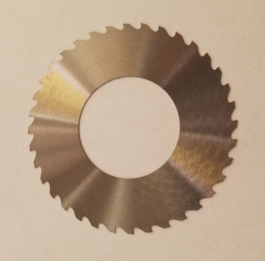 "Solid Carbide Slotting Slitting Jeweler Blade Saw 2.00"" x .0084 x 1.0"" Bore Mill"