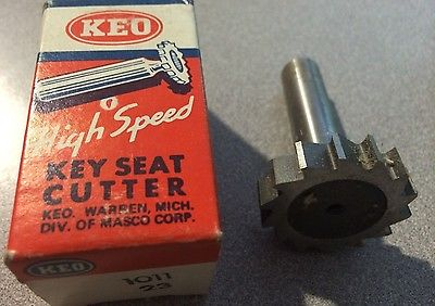 "KEO High Speed 1011 Woodruff Key Seat Cutter 1 3/8"" x 5/16"" x 2 5/16"" Brand New"