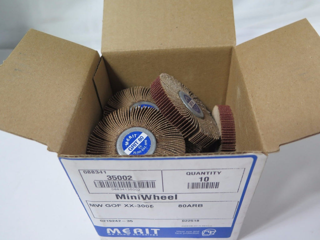 10 Pcs MERIT Mini Wheel 35002 MW GOF XX-3005 80 ARB 0219242-35 New