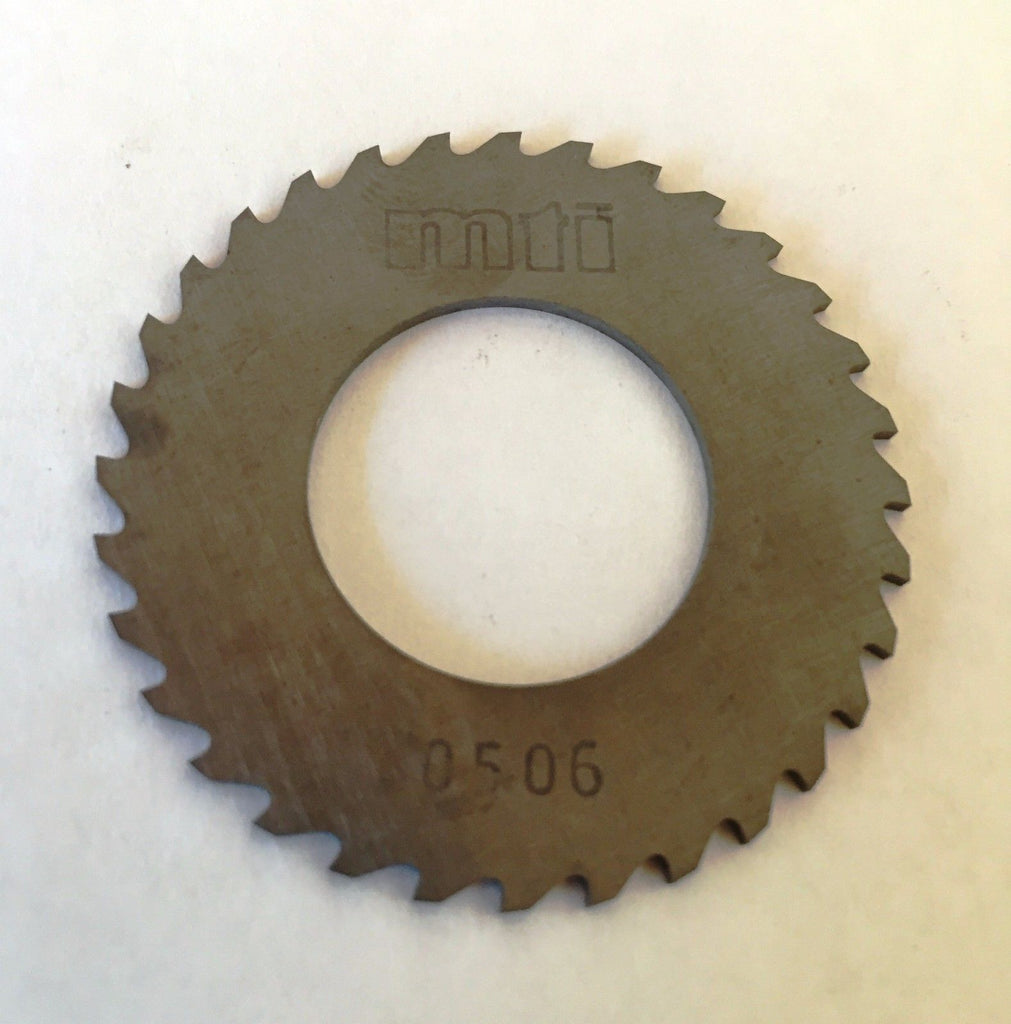 "Solid Carbide Slotting Slitting Jeweler Blade Saw 1-3/4""x.0506x0.875"" Bore Mill"