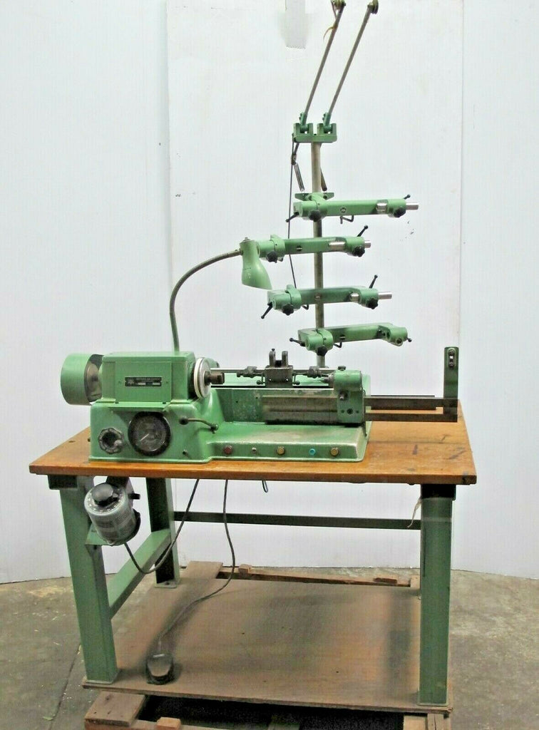 Meteor ME-301 coil winding machine Vintage Coil Winder Made In Switzerland Rare