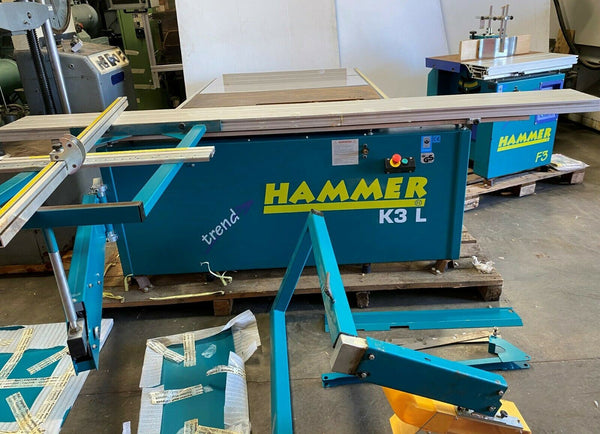 Hammer Model K3 L Panel Sliding Circular Table Saw WoodWorking Machine New