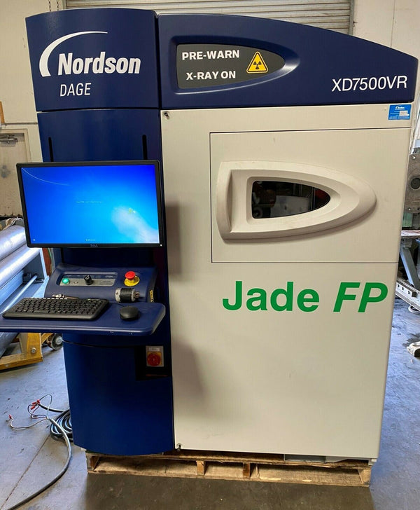 Nordson Dage Model XD7500VR Jade FP X-Ray Inspection System Year 2015