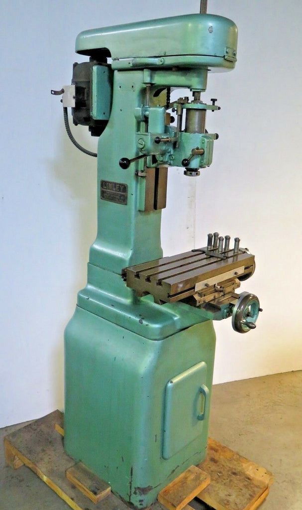 LINLEY Jig Borer Boring Machine Tool Room Precision Single Phase Rare