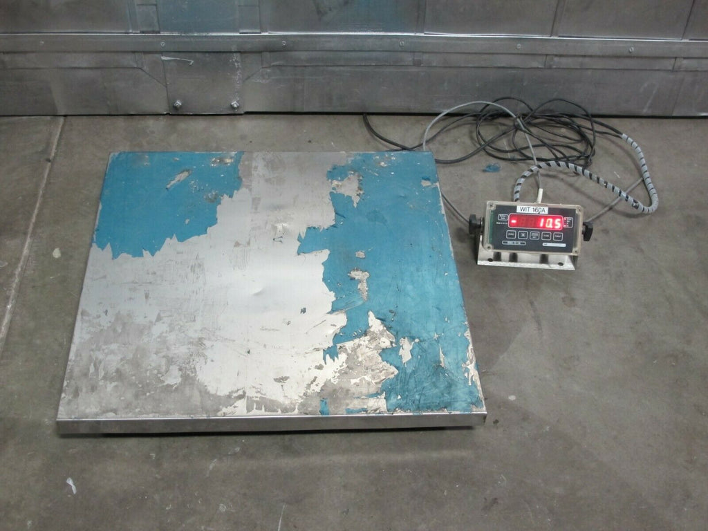Floor Scale With TR-1-NK Digital Scale Indicator Brain