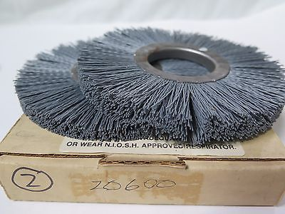 "Weiler Abrasive Wheel NY-6 .022/320 2"" Carbon Steel 20600 Qty 2 Brand New USA"