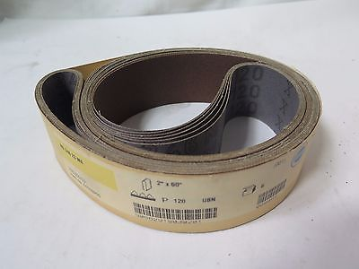 "Hermes 2"" x 60"" Sanding Belts VM6356/001 Grit 120 Qty 6 RB 346 23 MX Brand New"