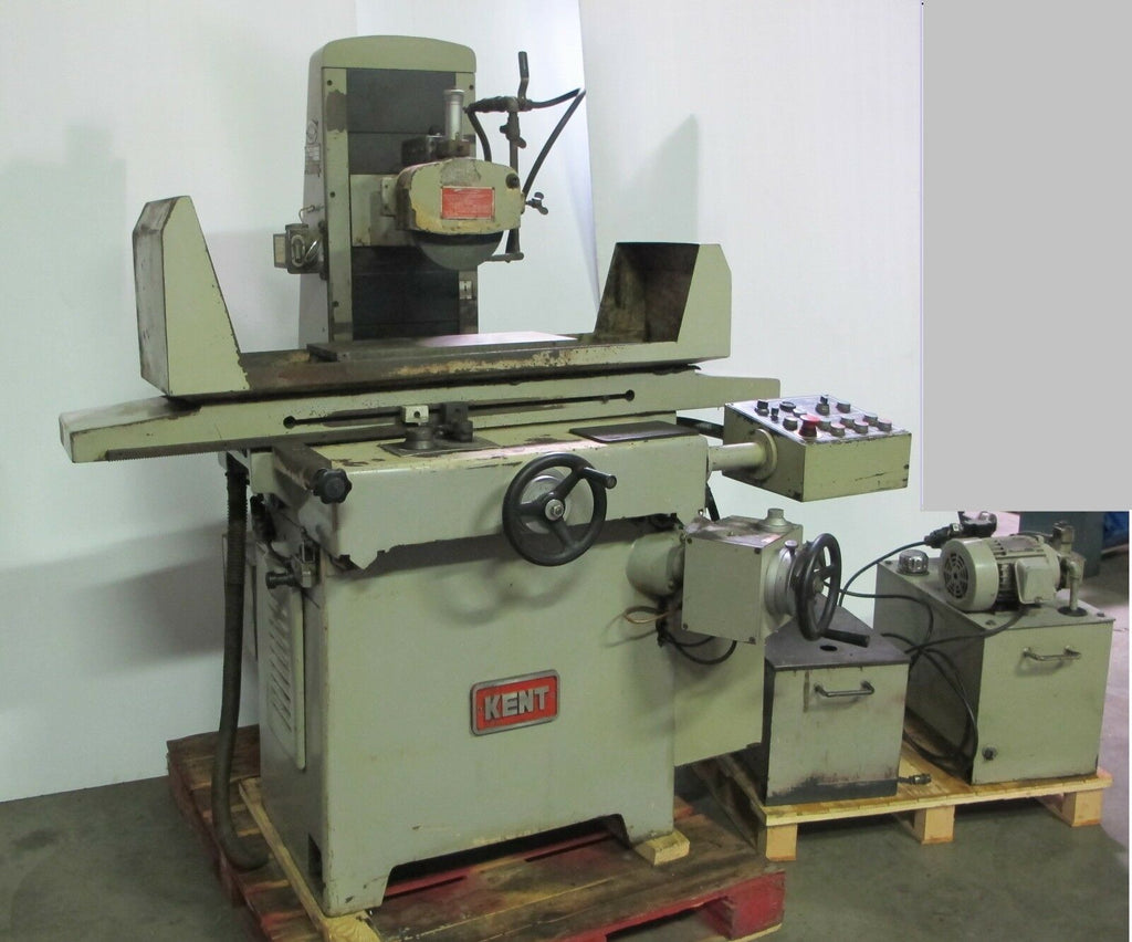 "Kent Model KGS-250 AHD 8"" X 19"" Automatic Surface Grinder Magnetic Chuck"