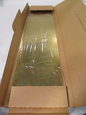 "Precision Brand 6 x 25"" Brass Shim 698158 SY12 Gage .012 Qty 2 Brand New"