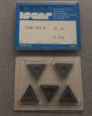ISCAR TNMP 433 E IC 20 Carbide Inserts 5 Pcs Lathe Tools Mill Tool New