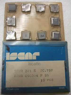ISCAR SPMR 321 E IC 757 Carbide Inserts 10 Pcs New Lathe Mill Turning