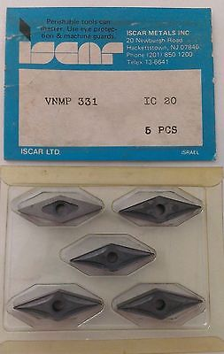 ISCAR VNMP 331 IC 20 Carbide Inserts 5 Pcs Turning Lathe Tools Mill New