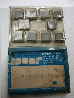 ISCAR SPC 422B IC 20 Carbide Inserts 5 Pcs Mill Lathe Tools New Turning