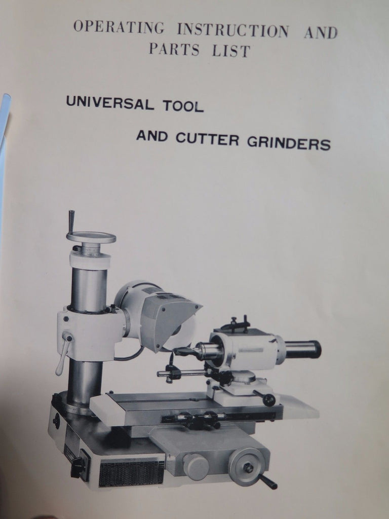 CHEVALIER FCG-610 Tool & Cutter Grinder End Mill Sharpener