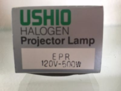 USHIO HALOGEN Projector Lamp EPR 120V-500W NEW