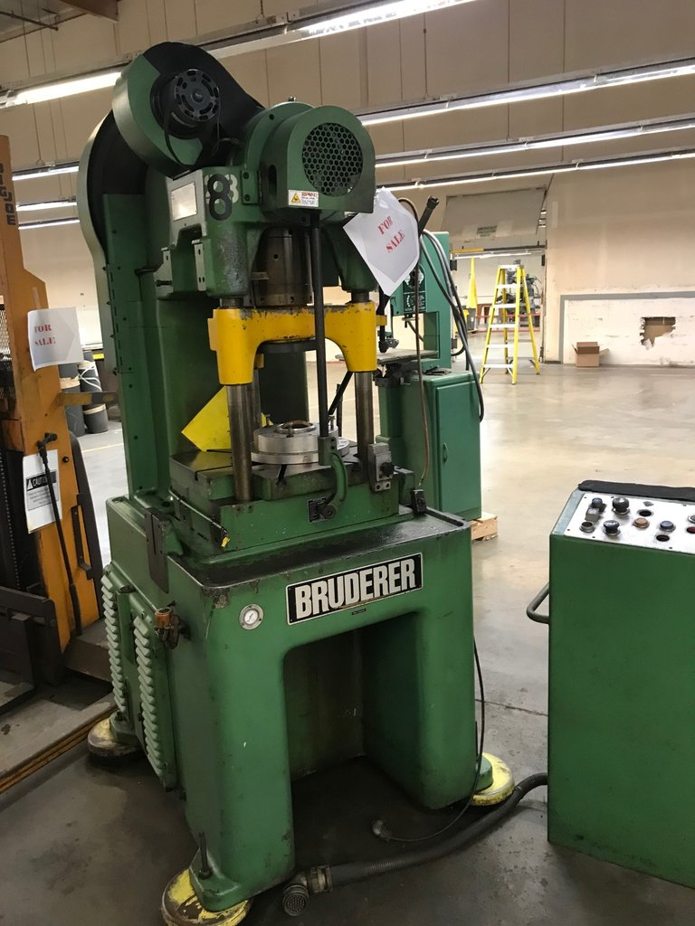 Bruderer 30 ton High Speed Press BSTA 30 Switzerland