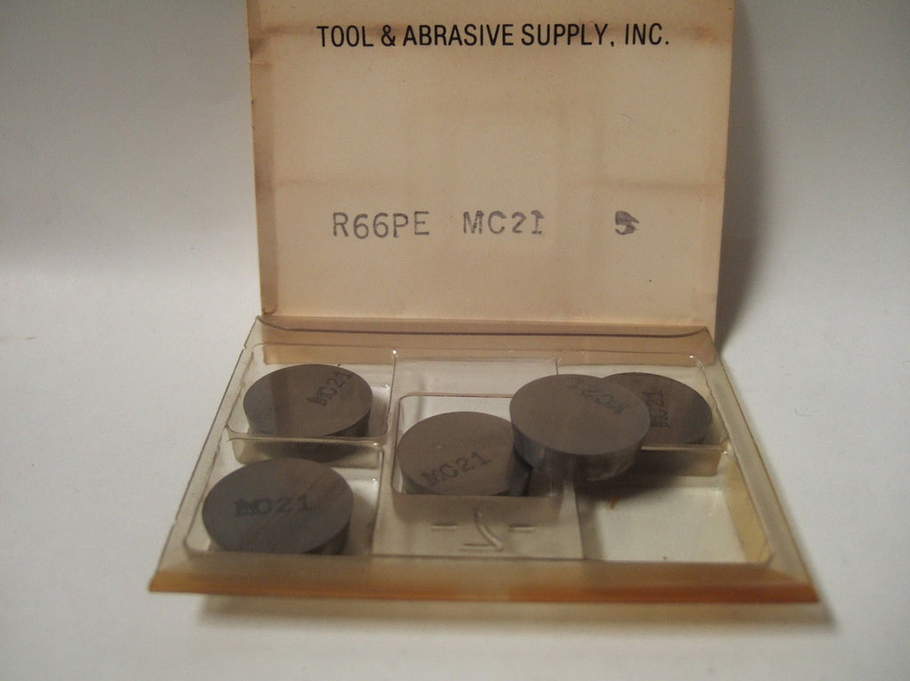 TOOL ABRASIVE Inserts R66PE MC 21 Lathe Carbide Inserts 5 pcs New Ring