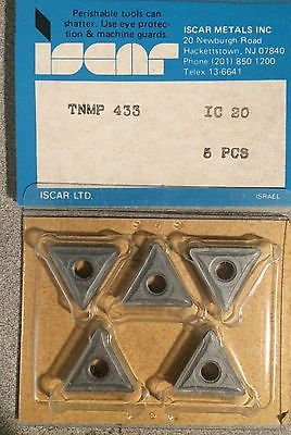 ISCAR TNMP 433 IC 20 Carbide Inserts 5 Pcs Turning Lathe Tools Mill New