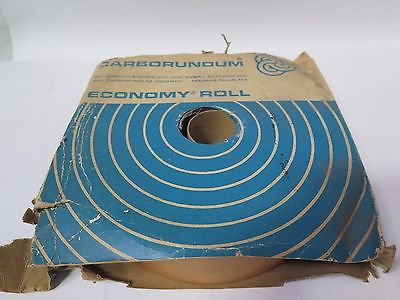 "Carborundum Abrasives 1 Economy Cloth Roll 2"" x 50 yds 50 Med Grit Brand New"