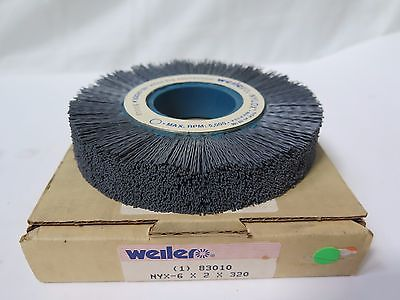 Weiler Abrasive Wheel 6 x 2 x 320 Carbon Steel 83010 Qty 1 Brand New made in USA