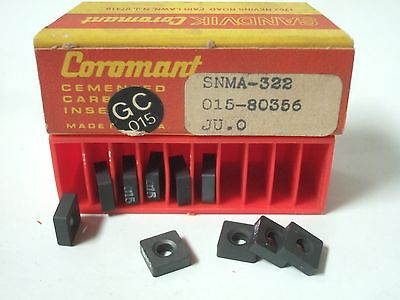 SANDVIK Coromant SNMA 322 015 80356 JU 0 Lathe Mill Carbide Inserts 10 Pcs New
