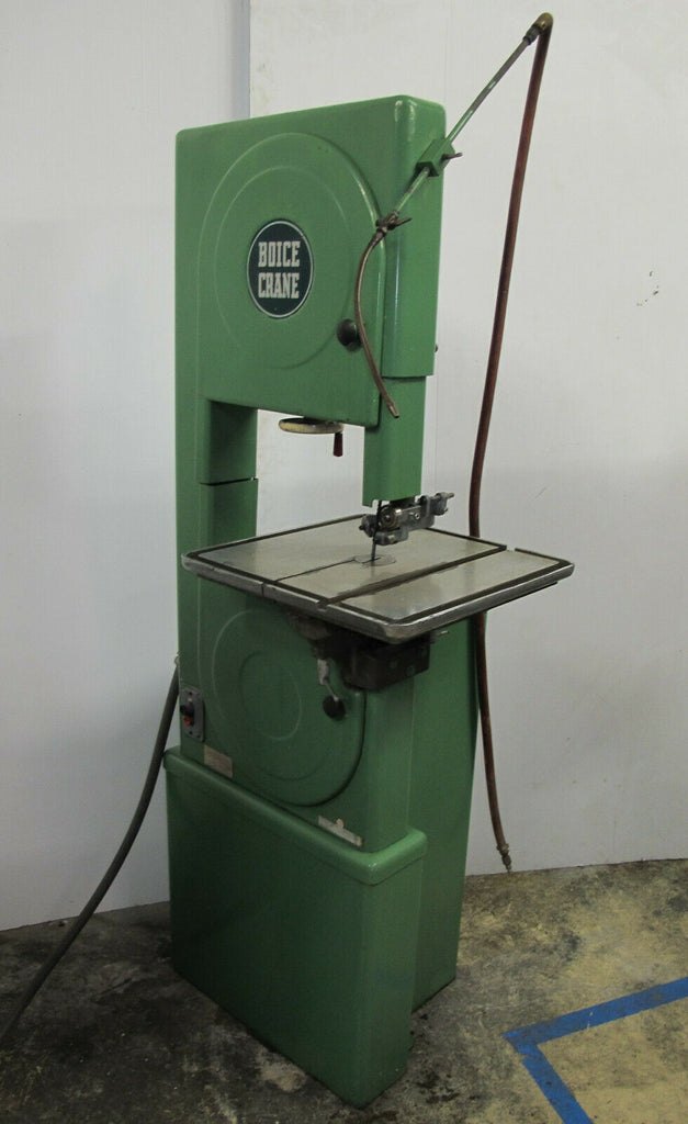 Boice Crane Vertical Band Saw #4709 Made in USA 3 Phase