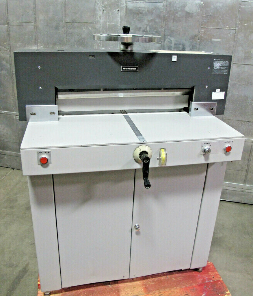 "Horizon Electric Paper Cutter Model PC-64 Max Cutting Width 25"" Extra Blade 120V"