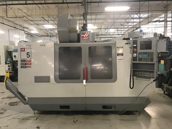 2004 HAAS VF-5B/40 CNC Vertical Machining Center VOP-C 10,000 RPM 30 HP 4TH Axis