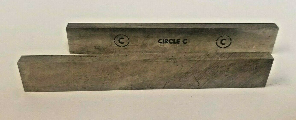 "Lot of 2 Circle C 1/4 x 3/4 x 5"" Rectangle Lathe Tool Cutting HSS Bits  Brand Ne"