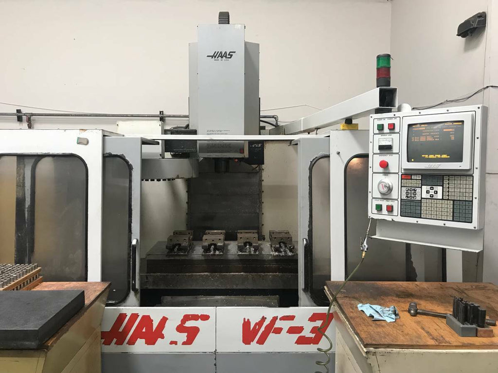 HAAS VF-3 CNC Vertical Machining Center VMC Runs Good With Tooling VF3